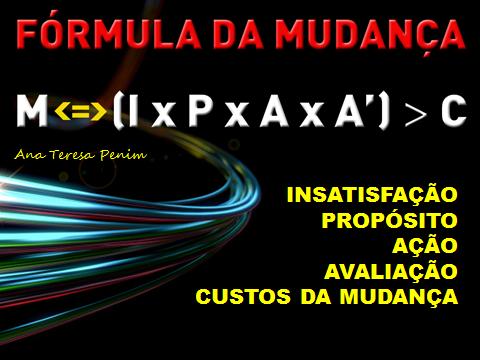 Fórmula da Mudança